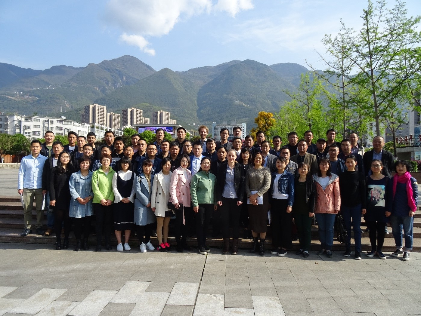Group picture Wuxi Carah training class China