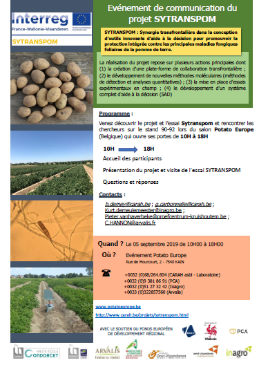 201909 Sytraspom potato europe image fr
